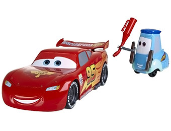 40% off Disney Pixar Cars Gulp n go Mcqueen Race Car