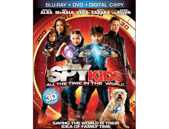 52% off Spy Kids 4: All the Time in the World (Blu-ray,3D,DVD,Digital)