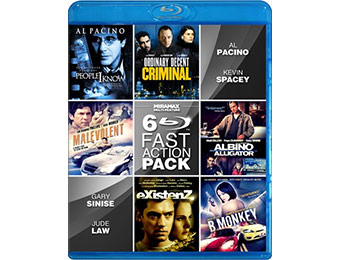 67% off Miramax Fast Action 6-Film Collection on Blu-ray