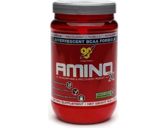 26% off BSN Amino X Green Apple - 30 servings