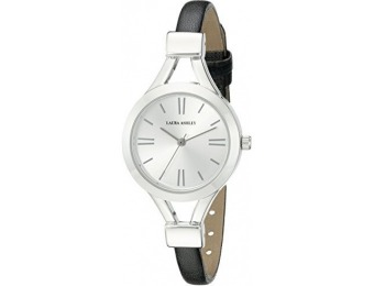 88% off Laura Ashley Women's LA31011SS Analog Quartz Watch