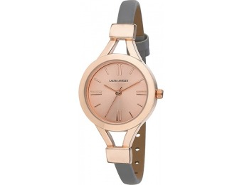 94% off Ladies Laura Ashley Rose Gold Watch - LA31011RG