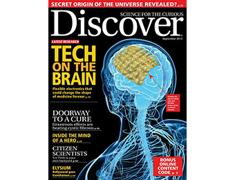 91% off Discover Magazine 1 Year Subscription, Coupon Code: 0473