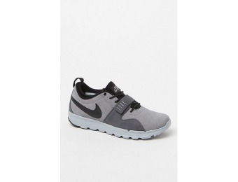 47% off Nike Trainerendor Suede Grey & Black Shoes