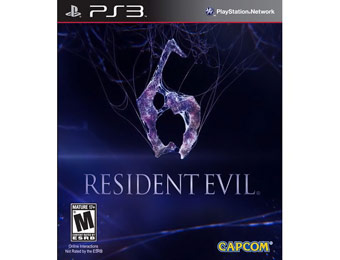 50% off Resident Evil 6 - PlayStation 3 Video Game
