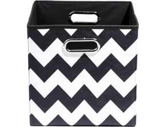 45% off Modern Littles Bold Chevron Folding Storage Bin