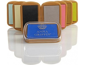 67% off Anna Griffin Set of 8 Ink Pads - Favorite Shades