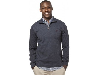 80% off Big & Tall Chaps Classic Fit Quarter-Zip Pullover