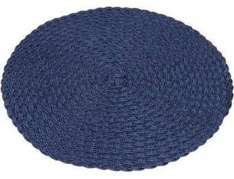 78% off Knack3 Braided Placemat, Blue