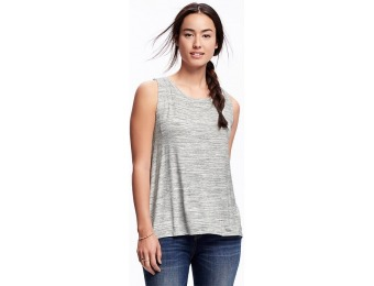 80% off Old Navy Relaxed Hi Lo Slit Back Space Dye Muscle Tank