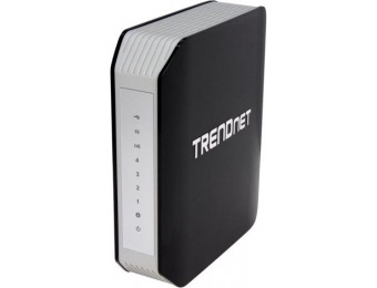 87% off TRENDnet TEW-812DRU AC1750 Dual Band Wireless Router
