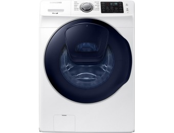 40% off Samsung 4.5 CF 12-Cycle Addwash HE Washer WF45K6200AW