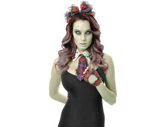 75% off Zombie School Girl Costume Kit