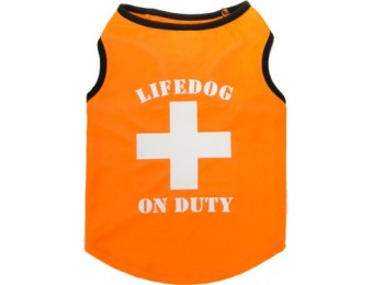 "75% off Top Paw ""Life Dog On Duty"" Shirt"