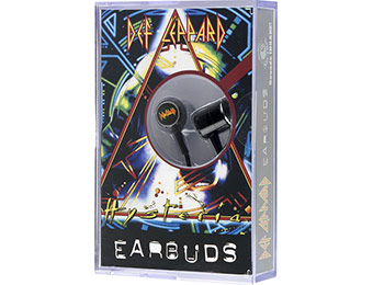 85% off Section8 Def Leppard Earbud Headphones