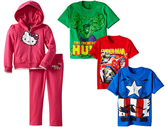 50% off Kids' Character Clothing, Shoes & More