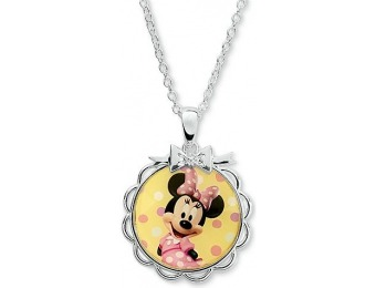 84% off Minnie Mouse Brass Bow Pendant