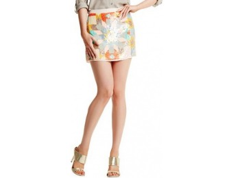78% off Marciano April Sequin Miniskirt