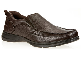 Clearance: Dr. Scholl's Mens Race Loafer Shoes (Black or Brown)