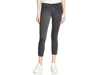 83% off J Brand Suvi Crop Jeans in Chrome