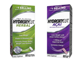 68% off Hydroxycut Herbal or Açai Weight-Loss Supplements