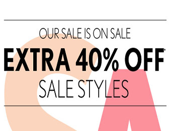EXTRA 40% off Sale Styles at Ann Taylor Loft