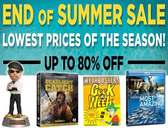 End of Summer Sale - Up to 80% off toys, DVDs, clothing, and more