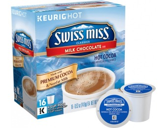 $5 off Keurig Swiss Miss Milk Chocolate Hot Cocoa K-Cups