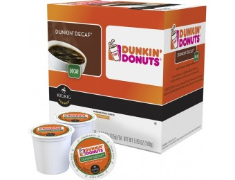 38% off Dunkin' Donuts Dunkin' Decaf Blend K-Cups (16-Pack)
