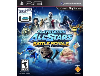 $45 off PlayStation All-Stars Battle Royale - PlayStation 3 Game