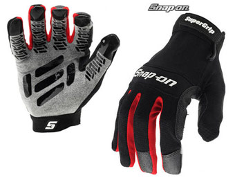 $31 off Snap-On SuperGrip Gloves & Mechanic Gloves, 2-Pack