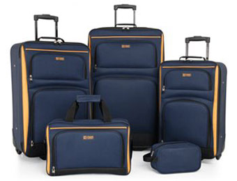 $244 off Chaps Voyager Pro 5-pc. Luggage Set w/code: RECESS
