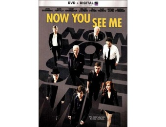 80% off Now You See Me (DVD)