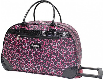 "73% off Kathy Van Zeeland Travelware 22"" Wheeled Dome Bag"