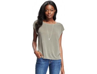 50% off Old Navy Sueded Cocoon Top For Women