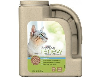 65% off Purina Pro Plan Renew Unscented Clumping Litter