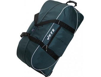 "65% off Athalon New York Jets NFL 35"" Wheeling Duffel Bag"