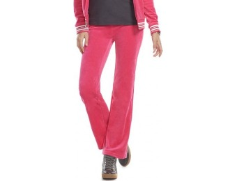 80% off Juicy Couture Lurex Bootcut Velour Pants