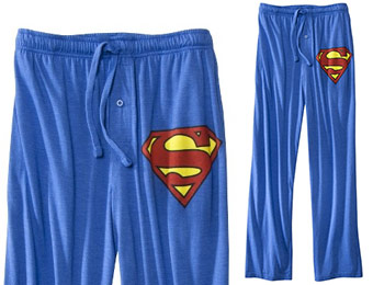 Extra 29% off Men's Superman Sleep Pants