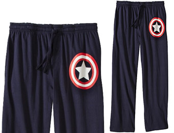 Extra 29% off Men's Captain America Sleep Pants