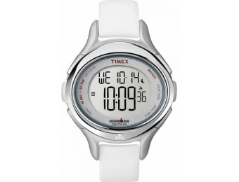 82% off Timex Women's Ironman 30-Lap Classic White Watch