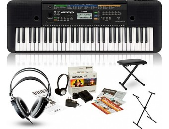 66% off Yamaha Psre253 With M80 Mkii, Bench And Stand