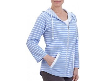 61% off French Terry Stripe Jacket