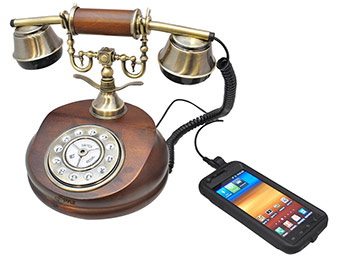 69% off Pyle PRT15I Vintage Style Phone for Landline / Cell Phone