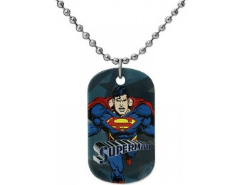 80% off Superman Stainless Steel Pendant