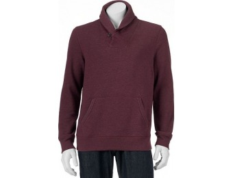 80% off Big & Tall SONOMA Goods for Life Fleece Shawl-Collar Pullover