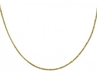 92% off 14K Rope Chain Necklace