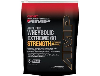 47% off AMP Amplified Wheybolic Extreme 60 Supplement