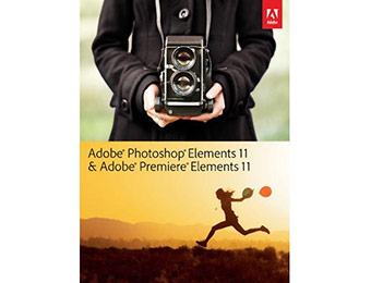 $65 off Adobe Photoshop & Premiere Elements 11 Software