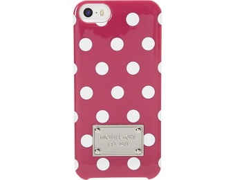 70% off MICHAEL Michael Kors Dot Print Plastic iPhone 5 Cover